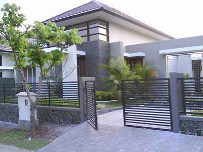 Model Pagar Rumah Minimalis on Tips Desain Pagar Rumah Minimalis   Cari Rumah Dot Net