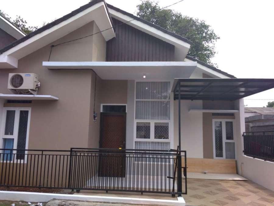 rumah baru murah di bekasi kota, desain kekinian bisa kpr, bantar gebang bekasi
