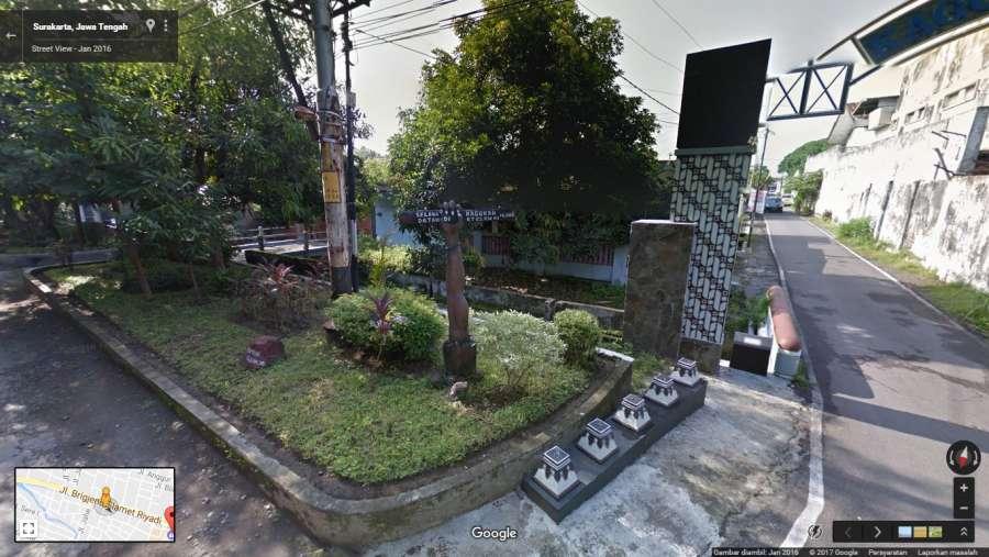 Dijual Rumah di daerah SURAKARTA - Jalan Slamet Riyadi No.481 Laweyan Surakarta - Cari Rumah dot Net