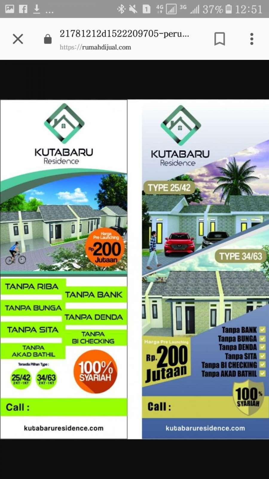 kutabaru residence kotabumi tangerang