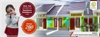 Rumah di daerah DEPOK, harga Rp. 280.000.000,-